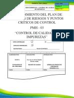Pmh 03 - Control de Impurezas