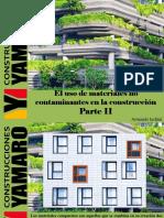 Armando Iachini - El Uso de Materiales No Contaminantes en La Construcción, Parte II