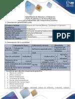 Guía de Actividades y Rúbica de Evaluación - Tarea 4 - Componente Práctico