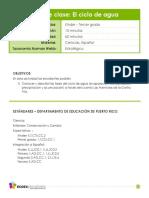 5 Anejo 1 Ciclo-Del-Agua Plan Clase