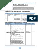 SESIÓN  DE LA UNIDAD DE APRENDIZAJE - JULIO -  1° - 2015.docx
