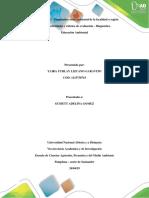 Diagnostico Socio Ambiental de La Localidad o Región