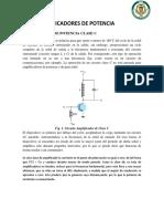 Amplificadores de Potencia (Clase C - F)