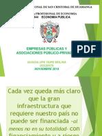Empresas Publicas y Asociaciones Publico Privadas 2018