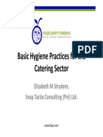 HACCP plans