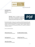 Informe Ponencia Positiva Objeciones JEP