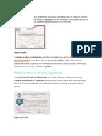 Patente de Comercio Solo Concepto e Imagenes