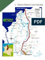 Ruta Bogotá - Santa Marta (Vía Honda) - Destinos y Planes