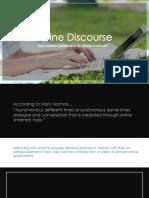 Rethinking Online Discourse