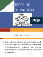 Tests de Motivacion