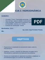 Conferencia 3 de Hidrodinámica