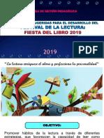 2019 Estrategias Para El Festival de La Lectura