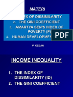 Measurement and Poverty Indicator