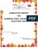 Spg Narrative Report Election