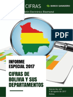 CIFRAS 629 Cifras Bolivia Departamentos