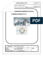Lab. Calif. Comportamiento Etico