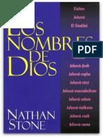 Los Nombres de Dios Nathan Stone
