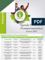 Agenda de Pronunciamientos- 2019