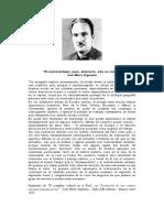 José María Arguedas - El Universalismo Puro, Abstracto, Aún No Existe