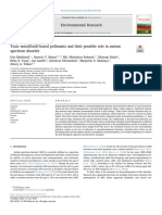 Toxic Metal(Loid)-Based Pollutants and Their Possible Role in Autism