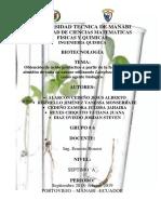 Obtención de ácido poliláctico a partir de la fermentación del almidón de caña de azúcar utilizando Lactobacillus delbrueckii como agente biológico