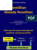 ADJ 01 Pemilihan Metode Lit