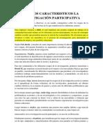 1 EDUCACIÓN BÁSICA_RASGOS CARACTERISTICOS DE LA INVESTIGACIÓN PARTICIPATIVA-EDGAR CAMPAÑA.docx