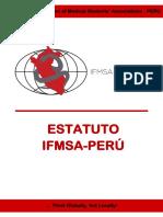 Estatuto Ifmsa Perú 2017