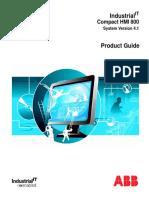 3BSE041037 F en Compact HMI 800 4.1 Product Guide