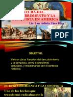 Literatura Del Descubrimiento y La Conquista en America