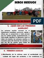 PRIMEROS AUXILIOS DIAPO