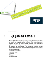 Excel 2013 Introduccion