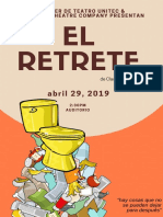 El Retrete Poster
