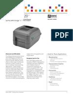 Barcode Label Printer Zebra Gt820