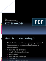biotechnology lesson 3 notes