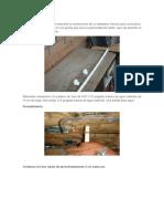 En Los Siguientes Pasos Se Describe La Construcción de Un Bebedero Manual Para Cunicultura