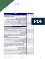 Checklist TestPlan v0.1