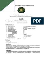 Syllabus Calculo III 2011-II