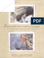 Sociología Rural, Política Científica y Tecnológica