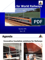 Indian Railway Insulation Solutions