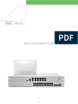 Mini-Lab - Student Guide | Computer Network | Virtual