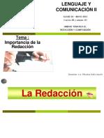 Importancia de la Redaccion.ppt