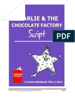 Charlie & the Chocolate Factory Playscript