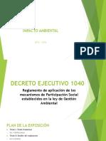 Exposición Decreto Ejecutivo_1040