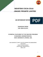 Coca Cola Report