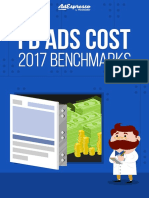 Facebook Ads Cost 2017 eBook