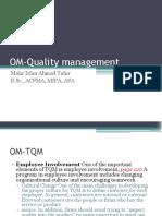 OM Quality Management 8