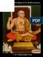 The Life and Teachings of Sri Madhvacharya by C.M. Padmanabha Char (English).pdf