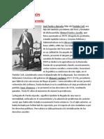 Republica Aristocratica-Jose Pardo y Barreda-Reformas