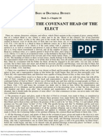 10. of Christ, As the Covenant-Head of the Elect.